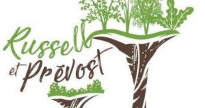 Logo Jardins Russell et Prévost